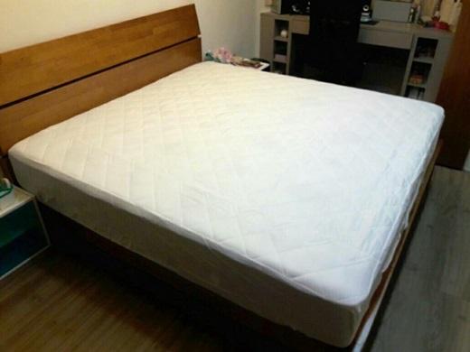 【新北市床墊工廠推薦】沒想到台北也有這麼棒的床墊訂做,不僅是自家生產床墊品牌,連店員介紹也很仔細,挑選獨立筒我都來台北傢俱街這間選購床墊