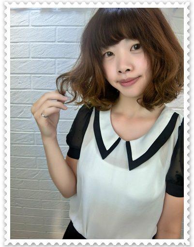 【燙髮分享】推薦到台北髮廊找髮型師燙髮及剪髮造型分享,好愛日系水感QQ燙,頭髮好輕盈好甜美唷~